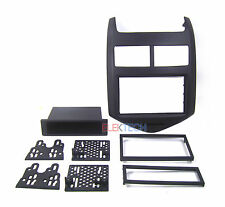 Double DIN with Pocket Radio Dash Replacement Kit for 2012-2014 Chevrolet Sonic