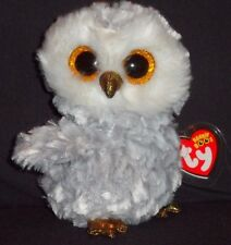 TY BEANIE BOOS - OWLETTE the OWL - MINT with MINT TAGS