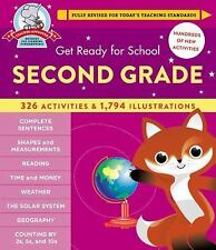 Get Ready for School: Get Ready for Second Grade by Heather St (FREE 2DAY SHIP)