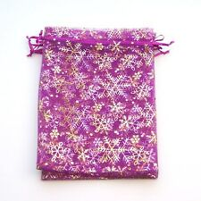 10 or 20 pcs Ice Organza Gift Bags / Pouches 17x23cm / 170x230mm / 6x9 inch