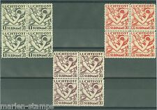 SURINAM  SC#C20/22  NVPH#LP 20/22  BLOCKS  MINT NEVER HINGED  FULL ORIGINAL GUM