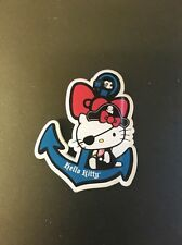 Hello Kitty Pirates Anchor Sea Badge Kitsch Funky Quirky Brooch Gift
