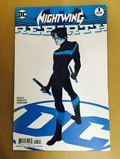 NIGHTWING REBIRTH #1 VARIANT FIRST PRINT DC COMICS (2016) BATMAN ROBIN GRAYSON