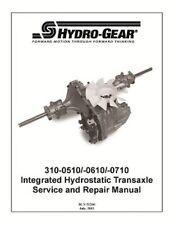 Transaxle  618-0319/918-0319/310-510 HYDRO GEAR OEM HYDRAULIC transmission