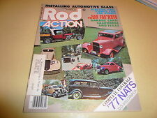 1977 Rod Action November 77 NATS Street Rods Install Auto Glass Fuel Pumps