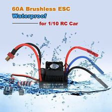 Waterproof Brushless 60A ESC Electric Speed Controller BEC 6V for RC 1:10 Car