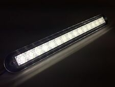 "MARINE BOAT WHITE LED STRIP LIGHT 176LM FLUSH MOUNT 12V 3W IP67 4500K 7.9""X0.9"""