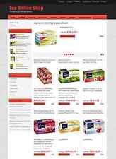 ★ TEE GETRÄNK ONLINE SHOP Geschäftsverkauf ★ Webprojekt Einnahmen ★