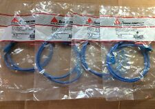LOT OF 4 SIEMON MC5-8T-03-B06C MC5 Cable Assy 91M (3FT) T568A/B BLUE 100 MHZ