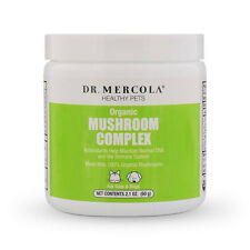 Dr Mercola ORGANIC MUSHROOM COMPLEX FOR PETS antioxidants healthy immune system