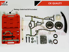 Per Vauxhall Corsa C D 1.0 1.2 1.4 00-10 TIMING CHAIN KIT RUOTE DENTATE & Tool Kit