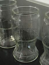 6 calici bicchieri Birra Wuhrer glass beer boccali