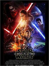 Affiche Roulée 40x60cm STAR WARS : EPISODE 7- LE RÉVEIL DE LA FORCE 2015 NEUVE
