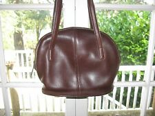 Authentic COACH quality!  Chocolate brown purse bucket bag.    Classic & Simple!