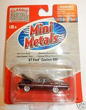 Classic Metal Works Mini Metals H.O. Scale 1967 Ford Custom 500 Model
