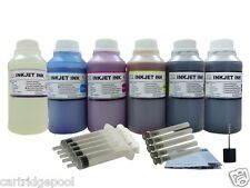 6X250ml/s refill ink for Kodak 10:EasyShare 5100 5300 5500 printer CMYK/PK/GO
