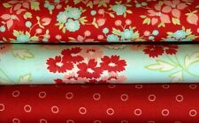 Hello Darling By Bonnie and Camille For Moda 3FQ 100% Cotton Fat Quarters