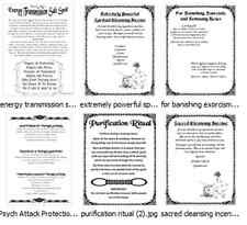 LOOK* How to Banish Ghosts Spirits Psychic Protection Cleansing Spells Rituals