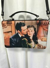 NWOT GONE WITH THE WIND Handbag With Slim Cellphone Holder Black Leather