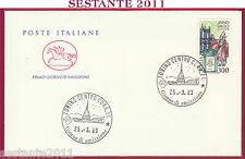 ITALIA FDC CAVALLINO ANNO SANTO 1983 ANNULLO TORINO T283