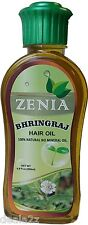 200ml Zenia Bhringraj Hair Oil 100% Natural No Mineral Oil Hair Fall Control