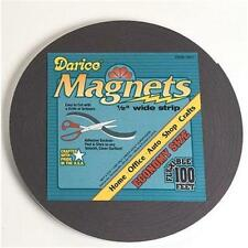 """Darice Adhesive Magnetic Tape Roll 1/2"""" x 100 feet Magnet Strip Home or School"""