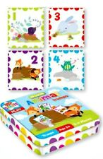 26pc ANIMAL CARDS Trump Game in tin kids LEARN Numbers & Play Toy nursery 3+