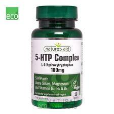 Natures Aid - 5-HTP Complex 100mg - 30 Tablets Vegan