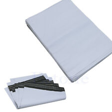 New 100X Poly Mailer Self Sealing Plastic Shipping Mailing Bag Envelope 25*34cm
