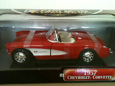 YAT MING 57 CHEVY CORVETTE DELUXE EDITION DIE CAST 1:18 HAND MADE