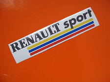 RENAULT SPORT sticker/decal x2