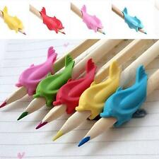 20Pcs Comfort Kids Learn Pen Pencil Children School Pupil Handwriting Soft Grips