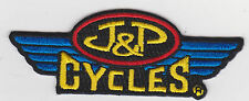J&P CYCLES PATCH BIKER CYCLE MOTORCYCLE VEST JACKET JP CYCLE PATCH USA