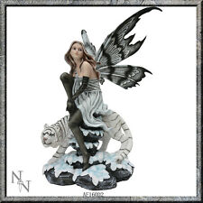 EIRWEN WHITE SNOW TIGER SEXY FAIRY NEMESIS NOW FIGUREINE MODEL RESIN BRAND NEW