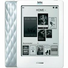 """Kobo Touch 6"""" eBook Reader Silver with 1 Month Battery Life and eInk Screen"""