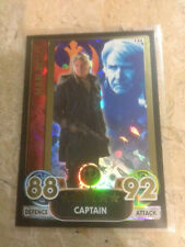 STAR WARS Force Awakens - Force Attax Extra Trading Card #124 Han Solo