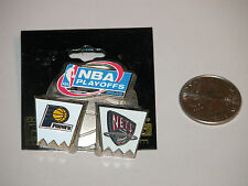 NEW JERSEY NETS NBA PLAYOFFS PIN 2002 EASTERN CONFERENCE FIRST ROUND INDIANA