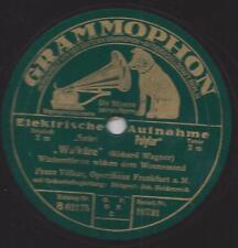 Franz Völker singt Wagner 1927 : Lohengrins Abschied + Winterstürme wichen