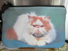 "PERSIAN CAT COIN PURSE  "" THIS BETTER BE GOOD """