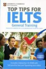 Top Tips for IELTS General Training by Cambridge Esol (2009, CD-ROM / Paperback)