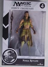 MAGIC THE GATHERING. NISSA REVANE. LEGACY COLLECTION FIGURE. NO. 4. NEW IN BOX