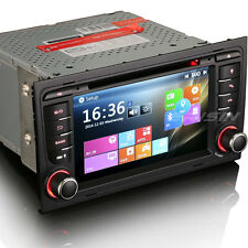 AUTORADIO GPS ERISIN ES7378A AUDI A4 FULL HD USB SD DVD 3G WIN 8 MAPPE NO DOGANA