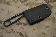 ESEE CUSTOM KYDEX EDC VERTICAL SHEATH BLACK FOR IZULA OR IZULA II #IZ2 USA