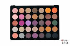 BeBella Palette B35C 35 Eyeshadow Shades Highly Pigmented Neutral Colors