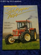 Schlepper Post 3/99 Percheron Schlüter Super 1250 VL Eigenbautraktor