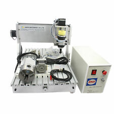 Mini portable 3 axis 500W AM3020 CNC engraving machine Mach3 USB port provide