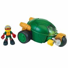 Teenage Mutant Ninja Turtles Half Shell Heroes - Stealth Bike with Racer Raph