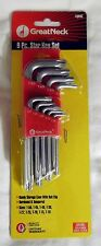 NEW 9 PC GREAT NECK STAR KEY SET TQR9C TORX WRENCHES FROM T10 TO T50