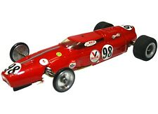 Vintage 1960's Brass Wire Chassis Pactra BRM/Ferrari Open Wheel 1/24 Slot Car