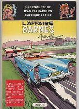 Valhardi. L'Afafire Barnes par Jijé. Dupuis 1959. EO française. TBE